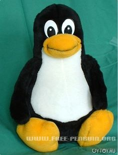 DIY Stuffed Linux Penguin - FREE Pattern