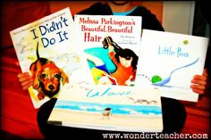 10 picture books that are great mentor texts for Writing Workshop via Wonder Teacher.