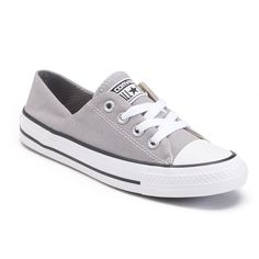 Women's Converse Chuck Taylor All Star Low Shoes, Size: 6, Grey
