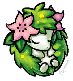 Shaymin by ~KAttAKIN on deviantART