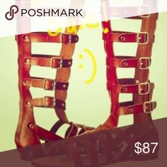 b9ef85211a1 Gladiator Spartan Sandals Hollister Co. Originally Priced at  87 from Hollister  Co. 7.5 New