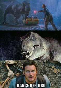 Chris Pratt meets Jurassic Park (really, he will)