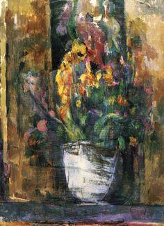 Vase of Flowers - Paul Cezanne