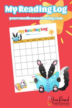 Little learners will have fun completing their daily reading when they get to use this fun Sticker Reading Chart! #StickerReadingChart #ReadingChart #StickerChart #Printable #Homeschool #Homeschooling #YearRoundHomeschooling Sticker Chart, Reading Charts, Summer Reading Program, Love Stickers, Little Learners, Motivate Yourself, Book Lists, Free Printables, Literature