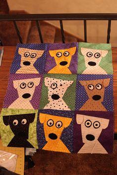 Another fun Dog Daze quilt.