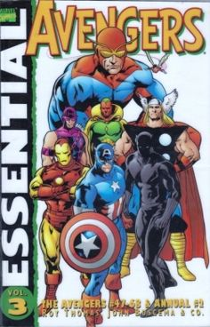Marvel Essential: Avengers Vol. 3 contains issues 47 to 68 of the comics original series, as well as Avengers Annual No. 2. For the most part...