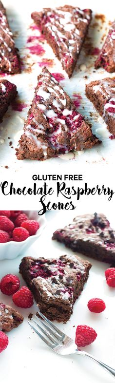 These Gluten-Free Chocolate Raspberry Scones are the PERFECT match for your morning cup of coffee. Let's snuggle up with one (or five), shall we?