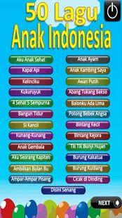 Lagu Anak Indonesia- gambar mini screenshot