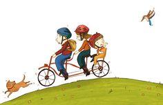 Bicycle Art Print by Shahar Kober | Society6