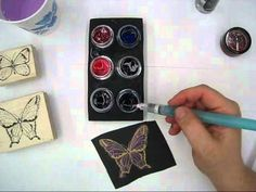 Video: Coloring with Twinkling H2O's