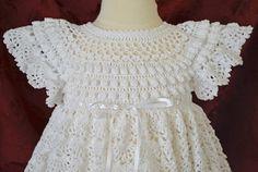 Bautizo blanco / bendición vestido resbalón Capo patucos y