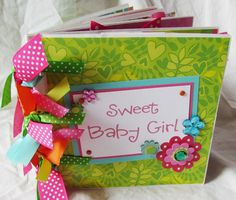 YOuR ChOicE BABY GIRL PaPeR BaG Premade Scrapbook by JourneysOfJoy