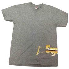 SUPREME Grey Cotton T-shirt