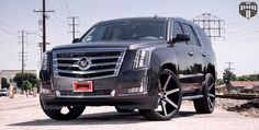 2015 Cadillac Escalade On 26-Inch DUB Future Wheels - Rides Magazine