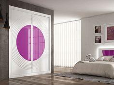 Las puertas de un armario también pueden ser los grandes protagonistas de cualquier estancia de la casa, solo tendrás que atreverte con los colores - Leroy Merlin