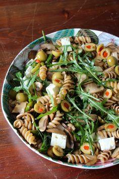 Cookbook Recipes, Pasta Recipes, Cooking Recipes, Healthy Recipes, Portuguese Recipes, Food Goals, Pasta Salad, Salads, Good Food