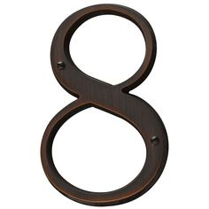 Baldwin 90678 Solid Brass Residential House Number 8
