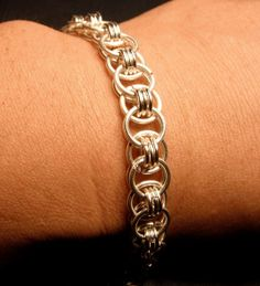 Helm's Chainmaille Bracelet by 4EverGems on Etsy, $29.00
