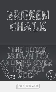 25 Free Hipster Fonts | Fonts | Graphic Design Junction Broken Chalk Free Hipster Font - created via https://pinthemall.net