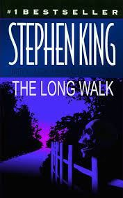 The Long Walk: By Stephen King: Book Cover by David Loew Cool Books, I Love Books, Books To Read, Stephen King Quotes, Stephen King Books, Joe Hill Books, Fantasy Romance Novels, Horror Books, Horror Movies