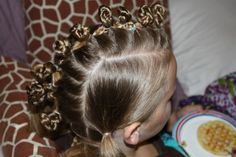 Crazy hair day was a breeze!