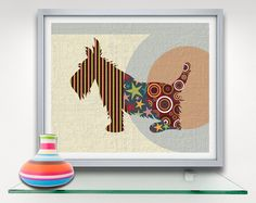 Scottish Terrier Dog Pop Art Print, Dog Art Design, Dog Wall Art Decor Illustration by iQstudio on Etsy https://www.etsy.com/listing/226203425/scottish-terrier-dog-pop-art-print-dog