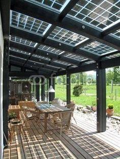Lovely Balcony solar Panels