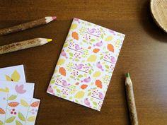 Caderno Passarinhos, do Atelier Joliz