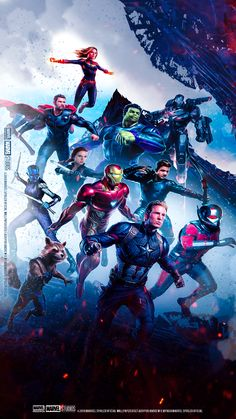 2019 Avengers Endgame Movie Poster Silk Art Print 12x18 32x48