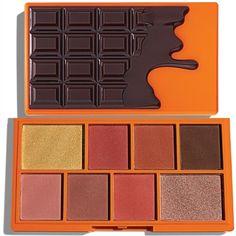 Choc Orange Mini Chocolate Orange Eyeshadow Palette, Makeup Palette, Makeup Products, Makeup Tips, Beauty Makeup, Makeup Revolution Palette, Chocolate Palette, Setting Spray, Sprays