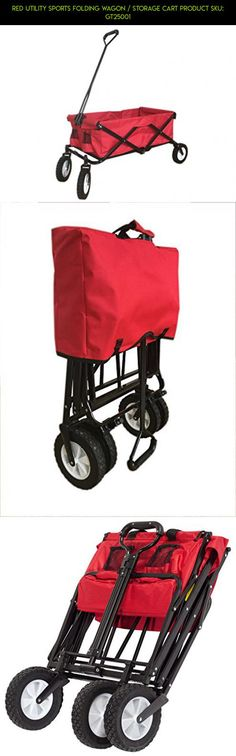 Red Utility Sports Folding Wagon / Storage Cart Product SKU: GT25001 #racing #kit #parts #for #shopping #camera #gadgets #products #clothes #tech #plans #drone #fpv #storage #technology