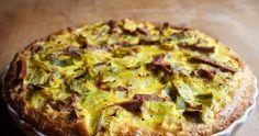 Pórkový koláč Evy Francové Bude, Vegetable Pizza, Quiche, Vegetables, Breakfast, Food, Diet, Morning Coffee, Vegetable Recipes