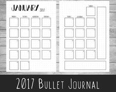 Bala revista Weekly Planner A5 A4 por ScatteredPapers1 en Etsy