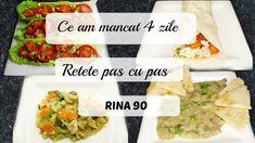Ep 3 /Ce mananc in 4 zile de Rina/ Retete dieta Rina 90 / Dieta Rina/ Wh...