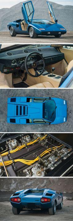 This 1976 Lamborghini Countach LP 400 Periscopio is Exotic Car Perfection