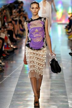 @Sierra Hall does this shirt have Frankenstein on it?!??!? Christopher Kane Spring 2013 RTW