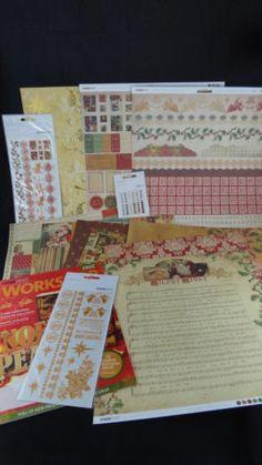 Kaisercraft December 25th Christmas Scrapbook Paper Collection Card Making | eBay