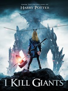 I Kill Giants is a 2017 fantasy drama film directed by Anders Walter with a screenplay by Joe Kelly, based on Kelly and Ken Niimura's graphic novel of the same 2018 Movies, Hd Movies, Movies To Watch, Movies Online, Movie Tv, Image Comics, Tv Series Online, Episode Online, Nerd