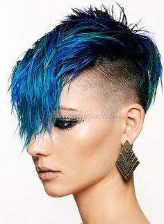 felnyírt női frizurák - felnyírt női frizura