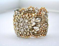 Custom Diamonds are a Girls Best Friendship Cuff от DolorisPetunia