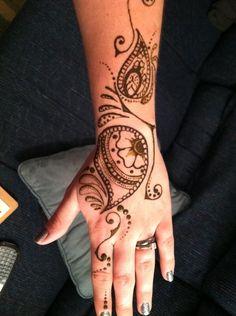 get a henna tattoo.