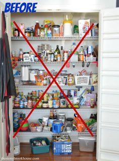How To Build Custom Pantry Shelves - Pantry Makeover Part 1 How to overhaul your pantry and make it custom for your needs.