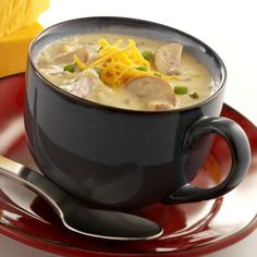 Try our rich Wisconsin Cheddary Beer Soup Recipe. Beer Cheddar Soup Recipe, Beer Soup, Cheddar Cheese Recipes, Beer Cheese Soups, Healthy Soup Recipes, Veggie Recipes, Cooking Recipes, Entree Recipes, Yummy Recipes
