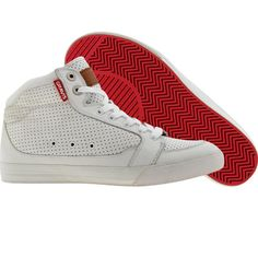 Gravis Lowdown HC in white and red