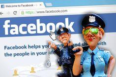 postar no facebook dois policiais