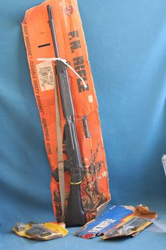 vintage airfix f.n rifle CHILD SIZE TOY 1975 rare made in Israel 1970's | eBay