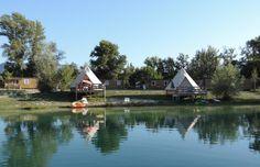Camping Le Lac Bleu is een gezellige kleinschalige familiecamping met zwembad…