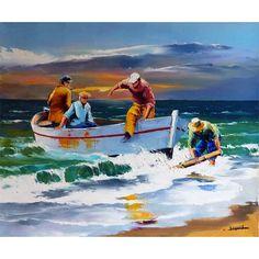 Fishing Back Christian Jequel