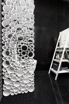 1970s room dividers made from pvc pipe - Google Search