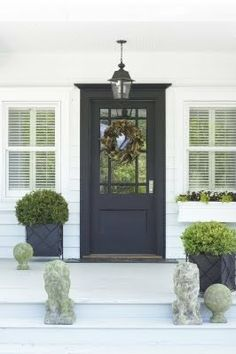 New House Front Door color Front Door Porch, Front Door Entrance, Front Door Colors, Front Entrances, Front Door Decor, Front Entry, House Front, Entry Doors, Door Entryway